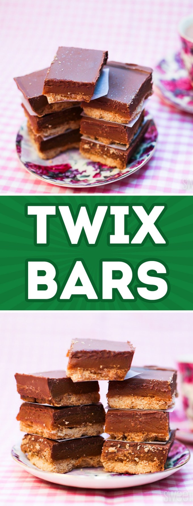TWIX Bars Recipe by Sweet2EatBaking.com