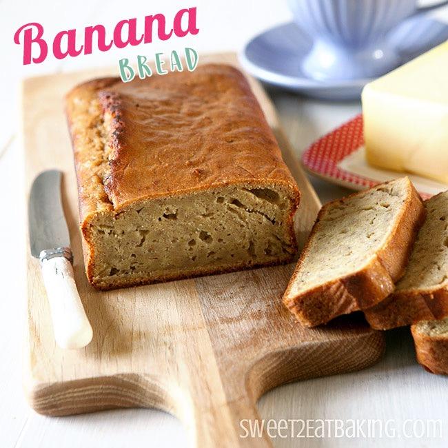 Banana Bread Recipe by Sweet2EatBaking.com