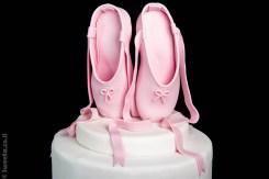 נעלי בלט מבצק סוכר