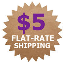 Flat Rate Shipping is Back 9/2 – 9/5
