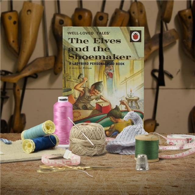 The Elves And The Shoemaker Personalised Book