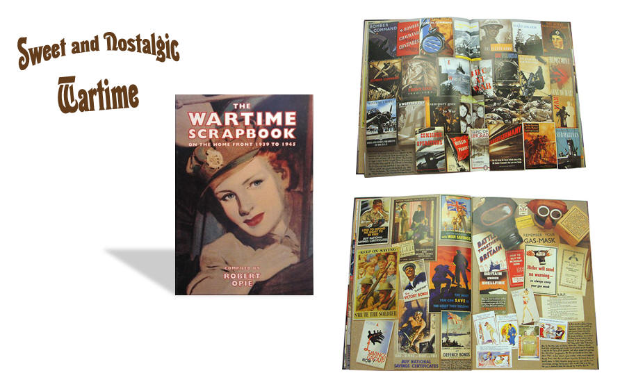 Wartime Scrapbook WWII