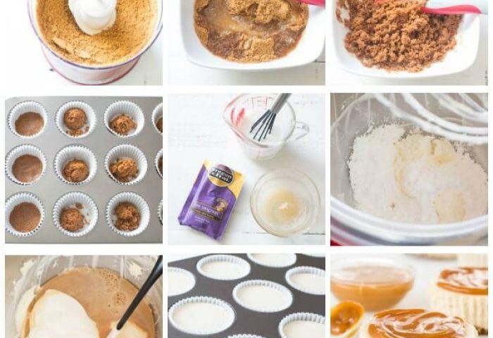 Chai Latte No Bake Mini Cheesecakes Sweet Savory By Shinee