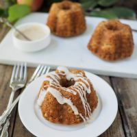 Mini Apple Spice Bundt Cakes