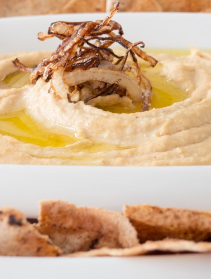Caramilized Onion Hummus