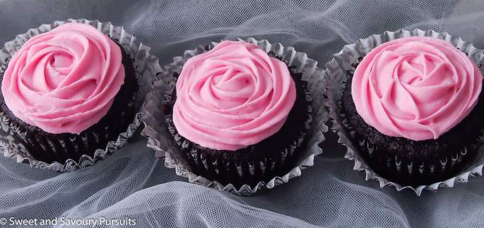 Chocolate Beet Cupcakes with Cream Cheese Icing