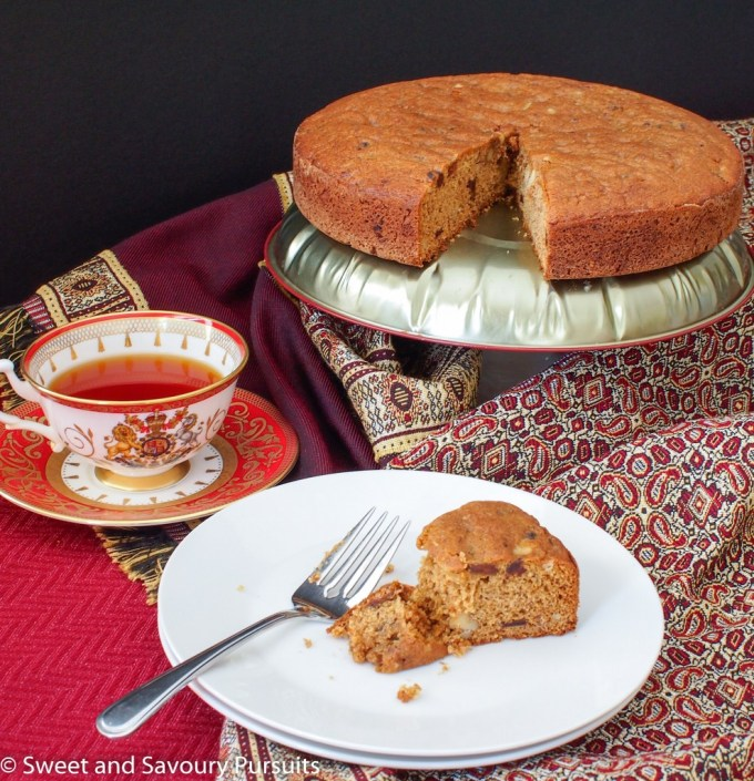 Date and Walnut Coffee Cake