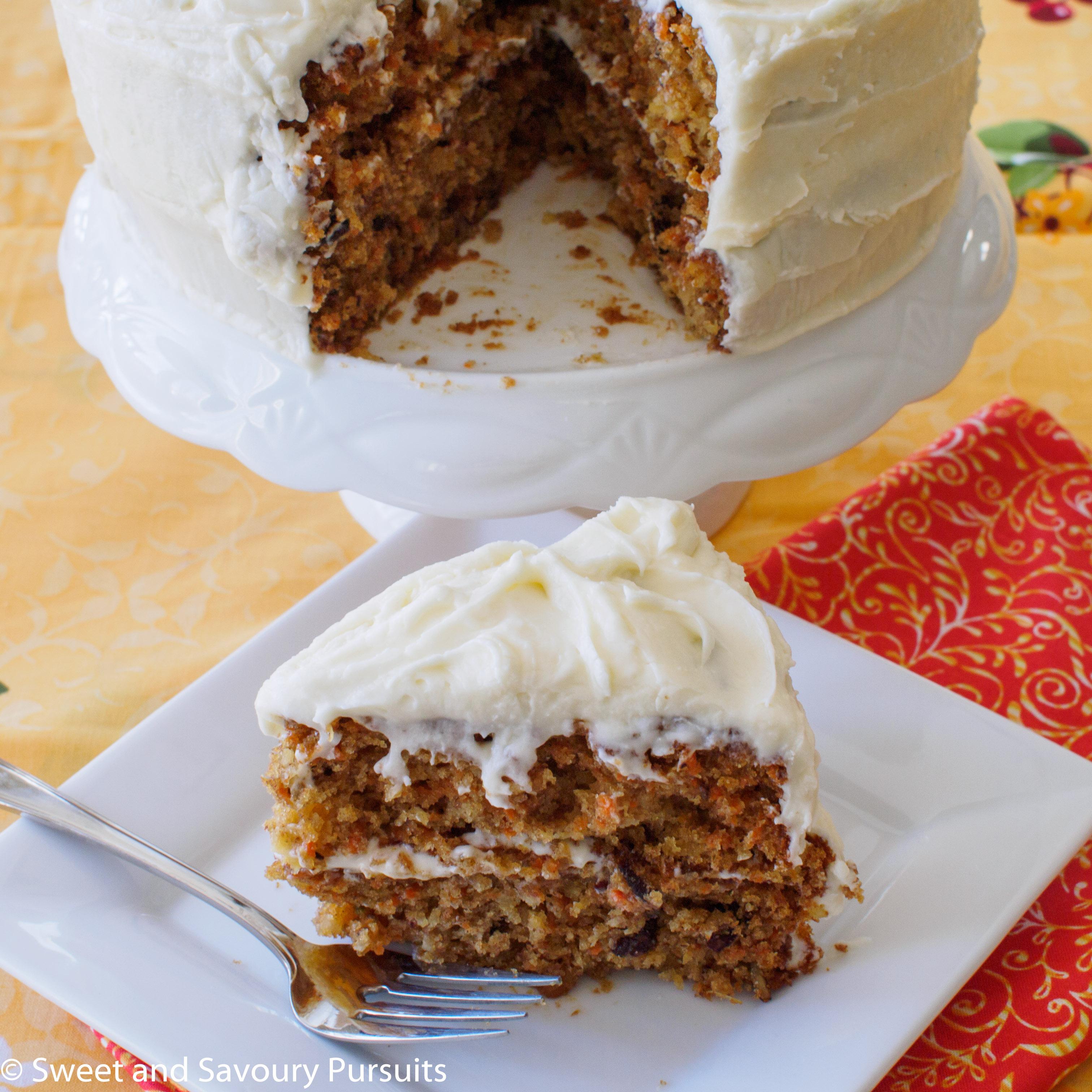 Carrot Cake Maple Syrup No Sugar