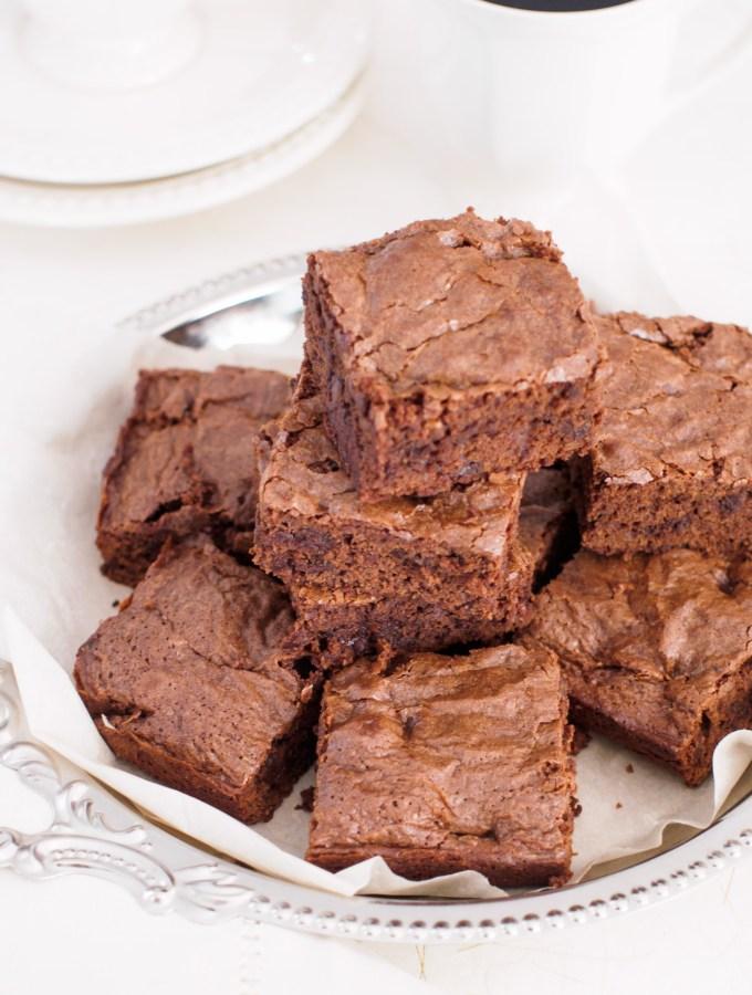 Triple Chocolate Brownies