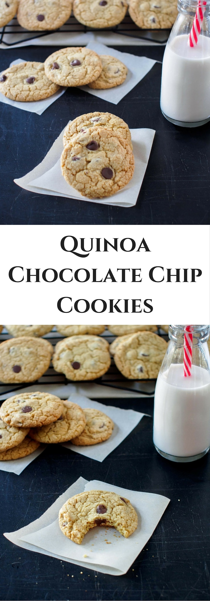 Quinoa Chocolate Chip Cookies