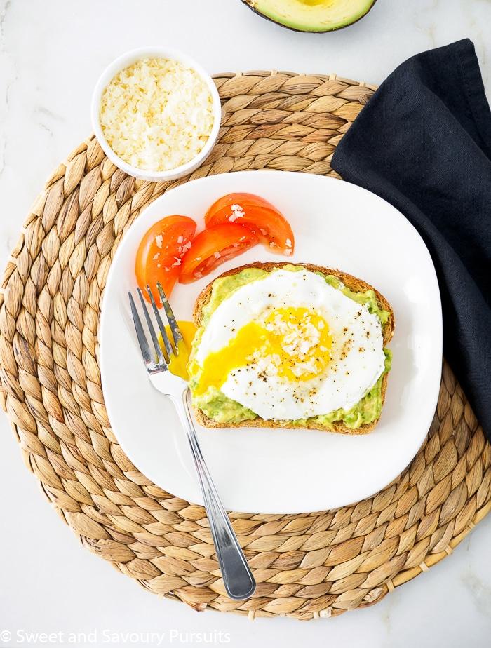 Fried Egg on Avocado Toast