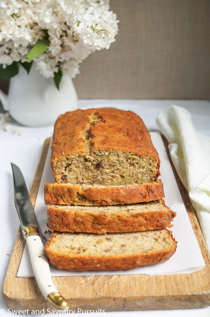 Lemon Zucchini Walnut Loaf d