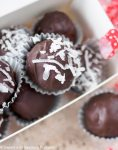Double Chocolate Coconut Almond Truffles