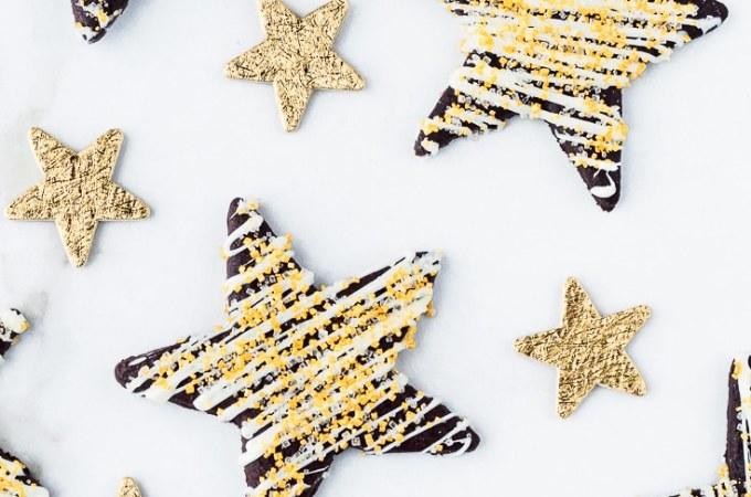 Chocolate Peppermint Sugar Cookies