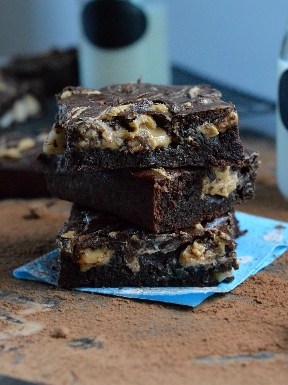 peanut butter sugar free brownie