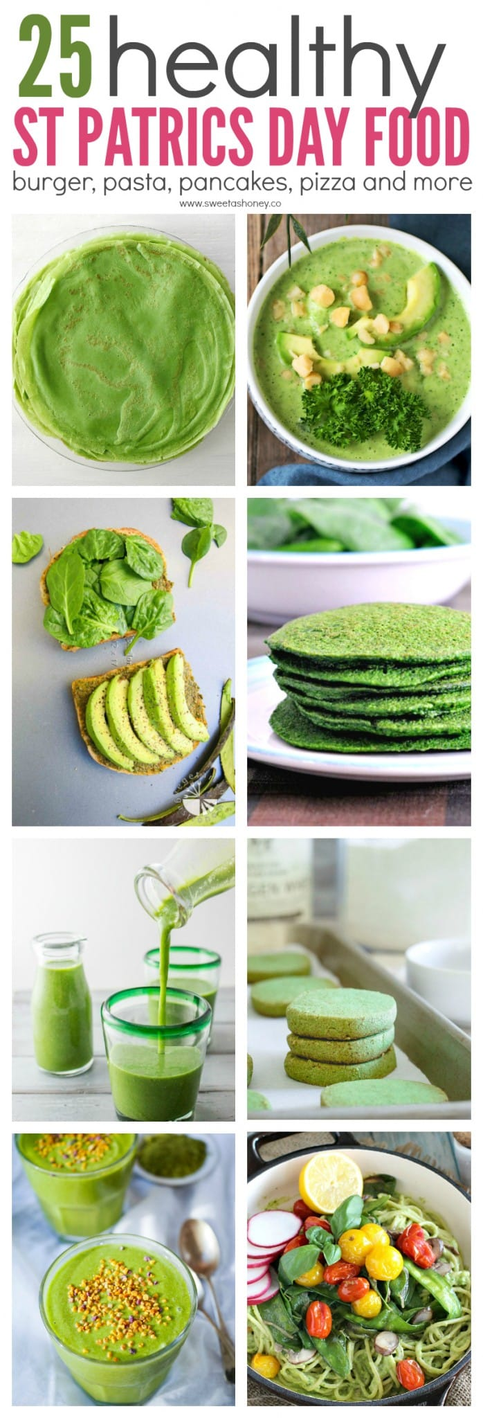25 Healthy Green Recipe to Celebrate St Patrick's Day