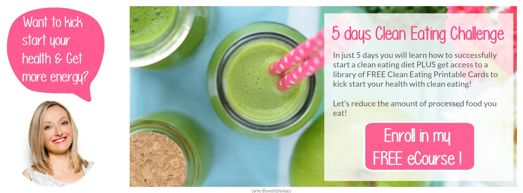 Join 5 days clean eating challenge