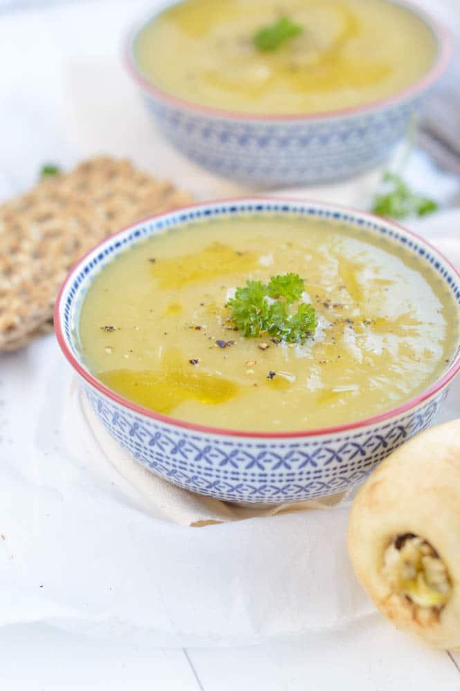 leek parsnip soup