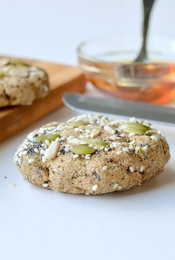 microwave keto bread 90 sec flaxseed bread no mug needed