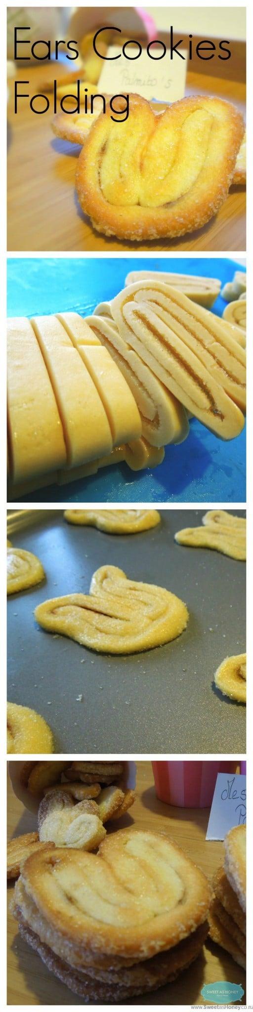 Elephant Ears Cookies folding