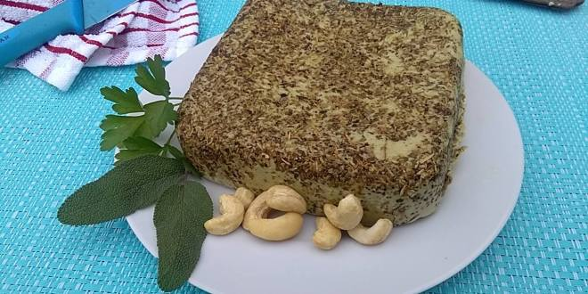 vegan cheese quest episode 1: VEGAN HERBS AND GARLIC BOURSIN-LIKE spread cheese