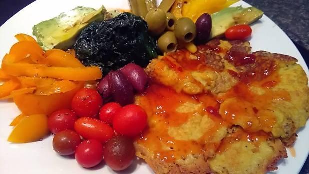 vegan cannellini omelette frittata