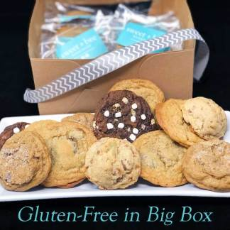 Sweet Bee Bakeshop Gluten-Free Baked Cookies in Big Box