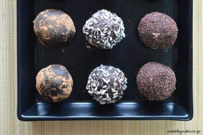 Σοκολατάκια με καρύδια & χουρμάδες_2