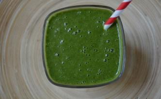 Πράσινο smoothie με βρώμη_2