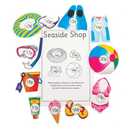 Sea Side Shop, pack of 5 sets & Teacher Manual