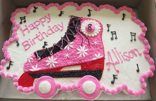 Marvelous Roller Skate Cupcake Cake Sweet Creations By Stacy Llc Funny Birthday Cards Online Inifofree Goldxyz