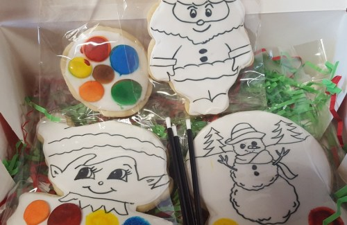 Christmas PIY Cookies