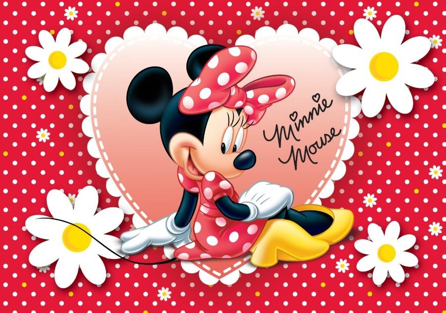 Coloriage Minnie Et Dessin Minnie A Imprimer Avec Mickey
