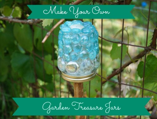 Garden Treasure Jar Tutorial