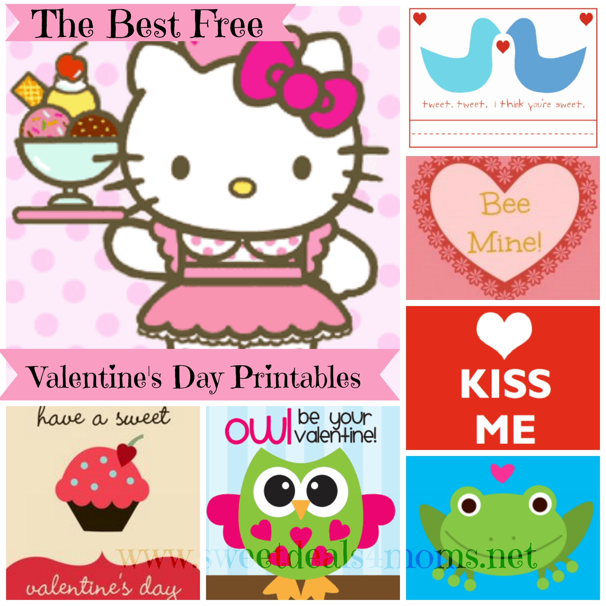 Free Printable Valentines Day Card Roundup