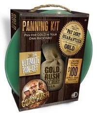 gold rush panning kit