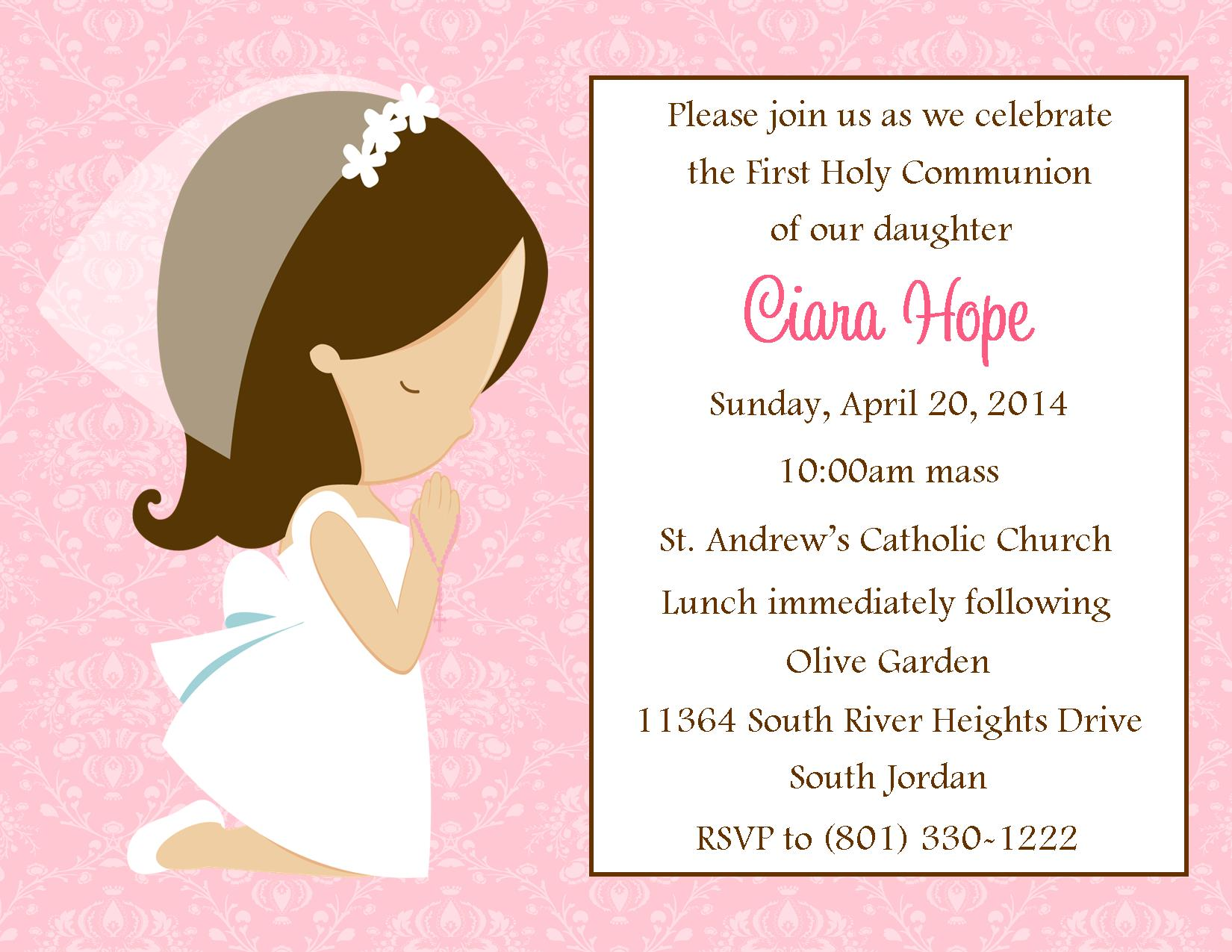Places Order Invitations