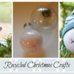 Christmas recycle Craft