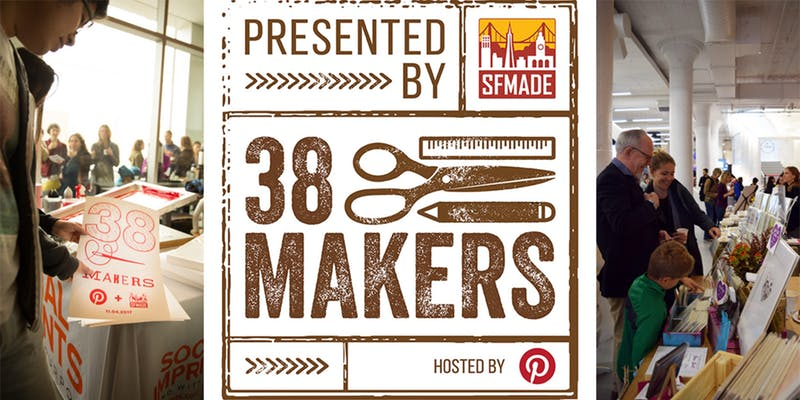 38 Makers 2018 - Holiday Fair at Pinterest