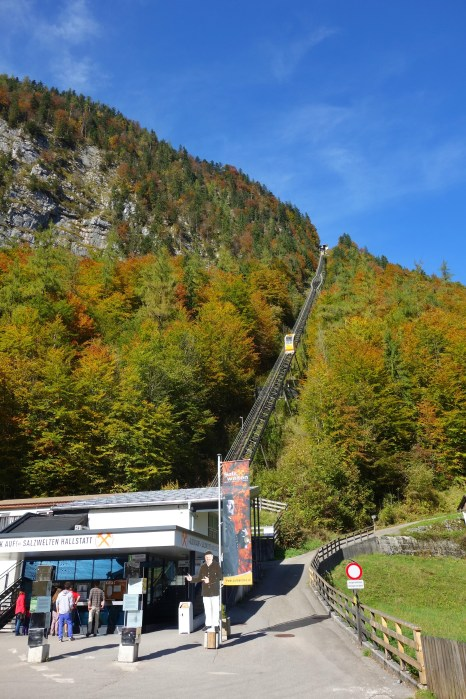 Funicular to the salt mine