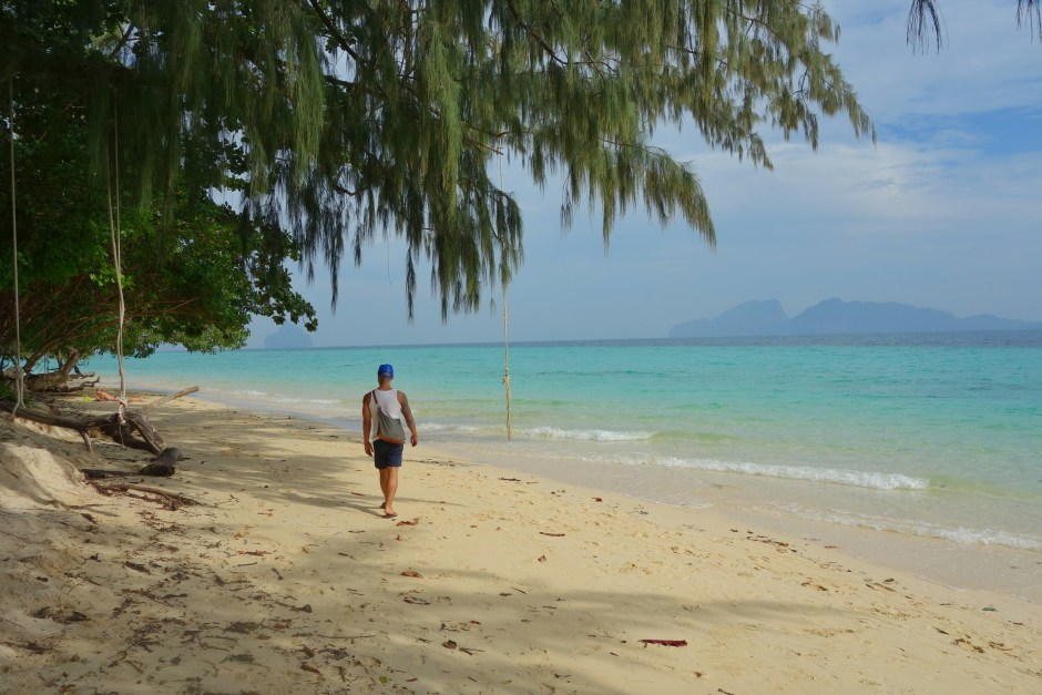 Beach on Koh Kradan