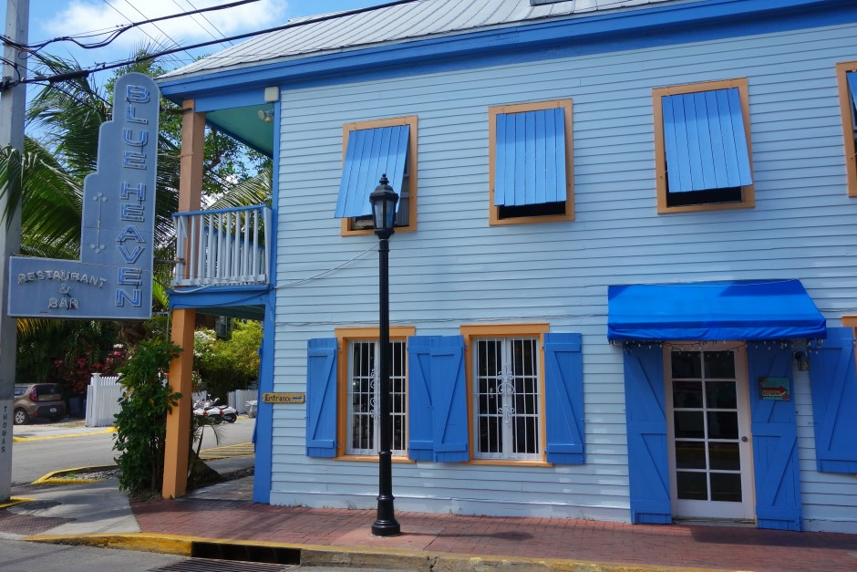 Blue Heaven Restaurant, Key West