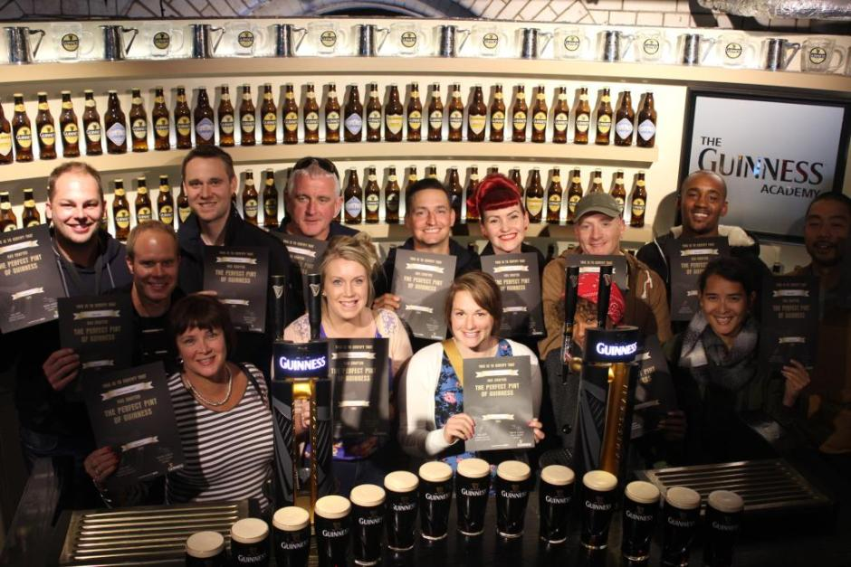 We passed the Guinness Academy :P