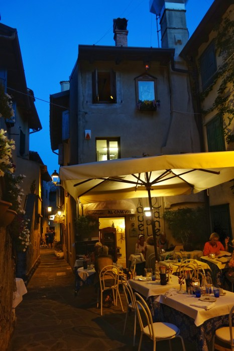 A beautiful trattoria we found in the Old Town
