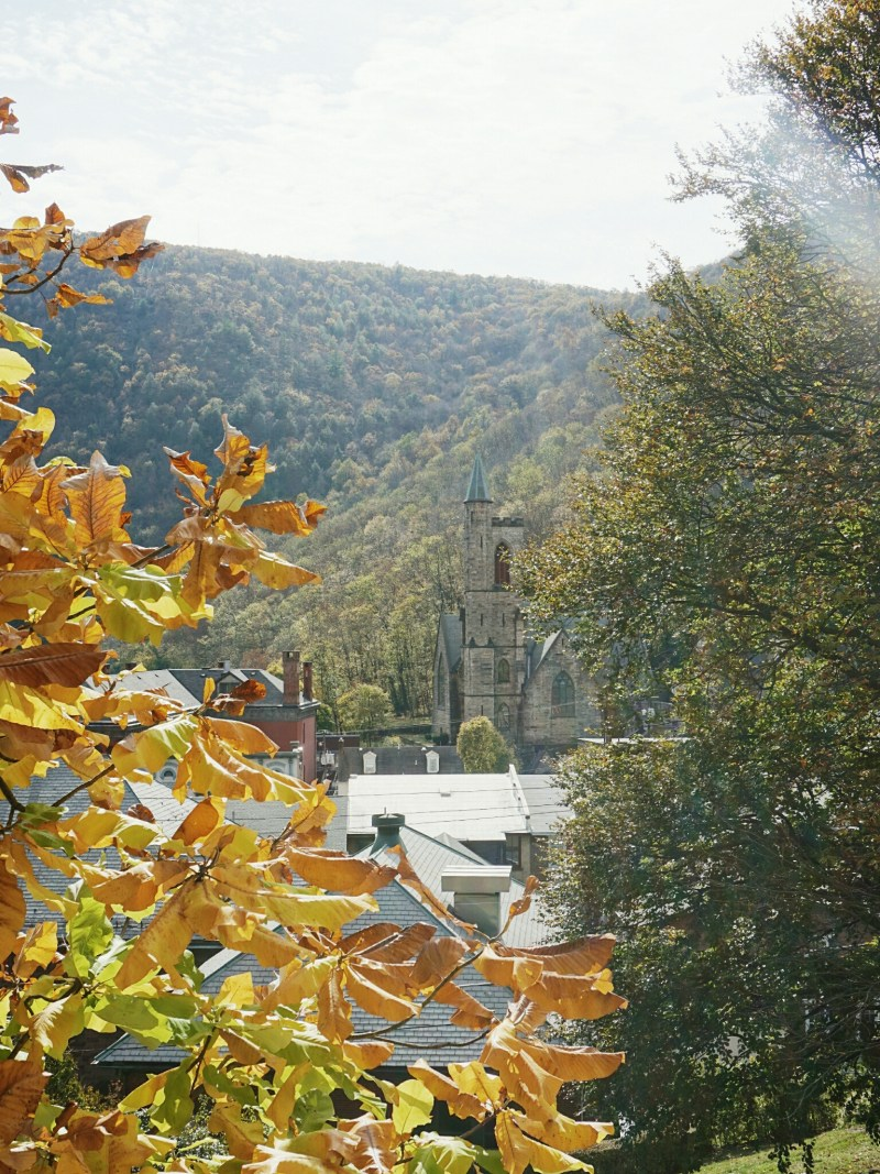Jim Thorpe town view