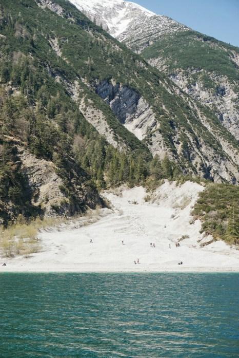 mountain lake hiking Austria