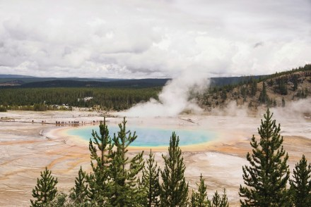 Best short hikes Yellowstone