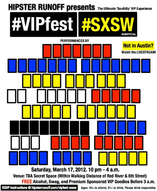 Hipster Runoff VIPfest at SXSW