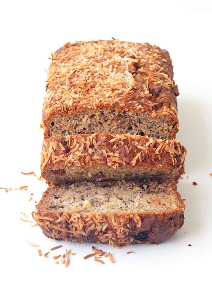 Banana Coconut Sultana Loaf