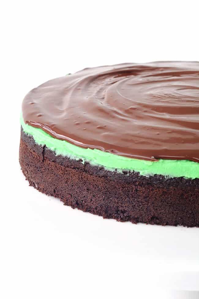 Mint Chocolate Cake